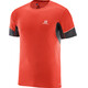 Salomon M's Agile SS Tee fiery red